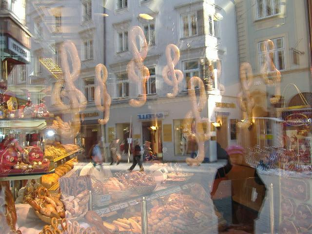 Bakery window, Salzburg