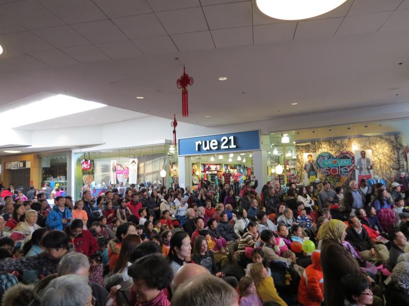 Hundreds enjoyed Meridian Mall's Chinese New Year fun