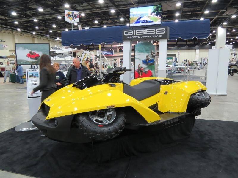 Gibbs Sports and Amphibians' new QuadSki