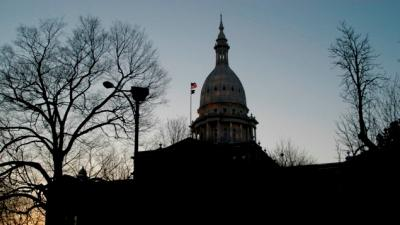 Michigan's Capitol building.