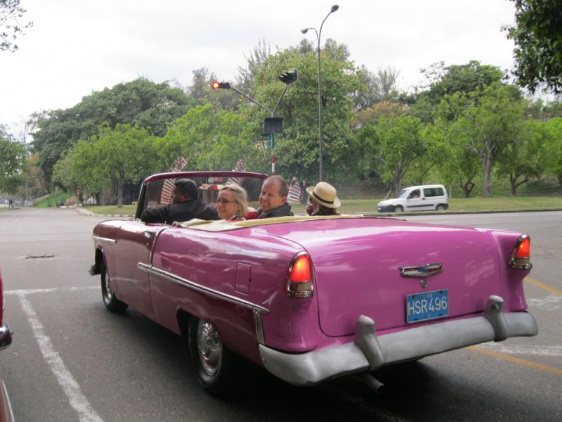 The Spartan Pathway is a travel program offered by Michigan State University Alumni Association. In March, the program took many Spartans to Cuba.