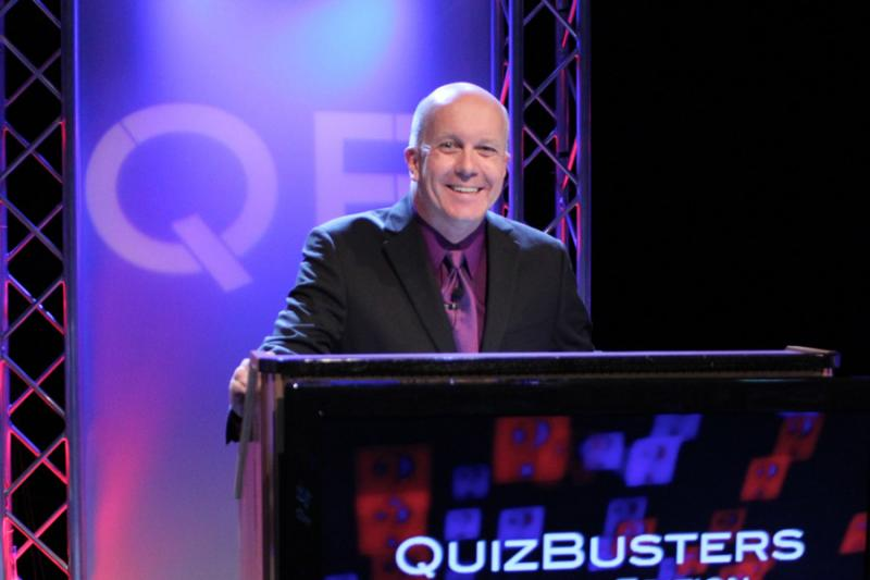 Matt Ottinger, host of QuizBusters