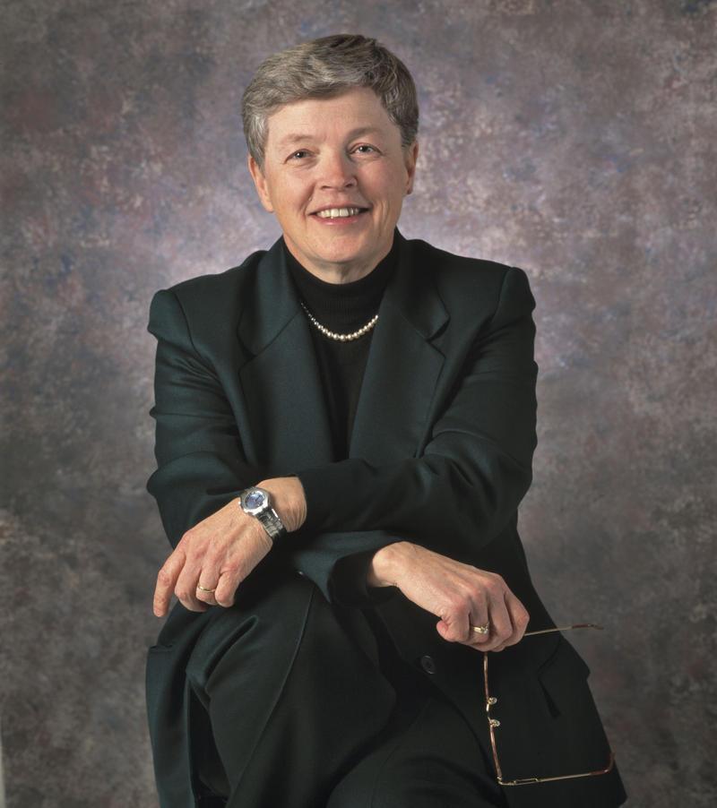 Portrait: MSU President Simon