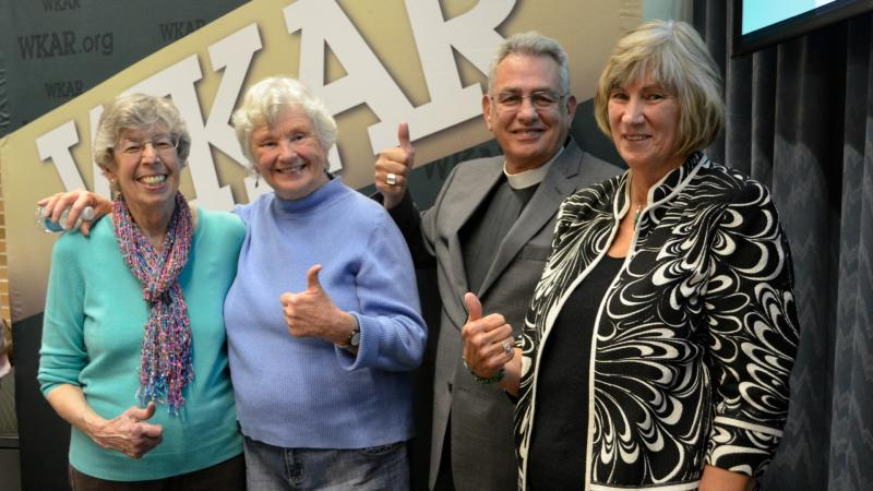 WKAR's Beany Tomber with Penny Gardner, Gordon Weller and Judy Karandjeff