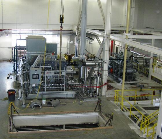 The $182 million plant has been under construction for more than two years.