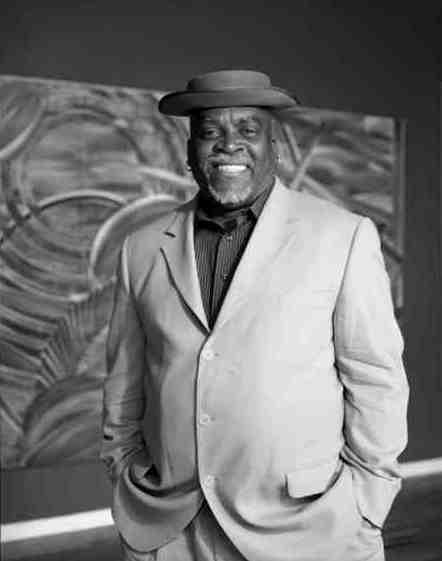 N'Namdi Center for Contemporary Art president George N'Namdi. His Detroit gallery has a Gilles Perrin exhibition through November 2.