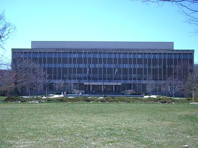 MSU admin building