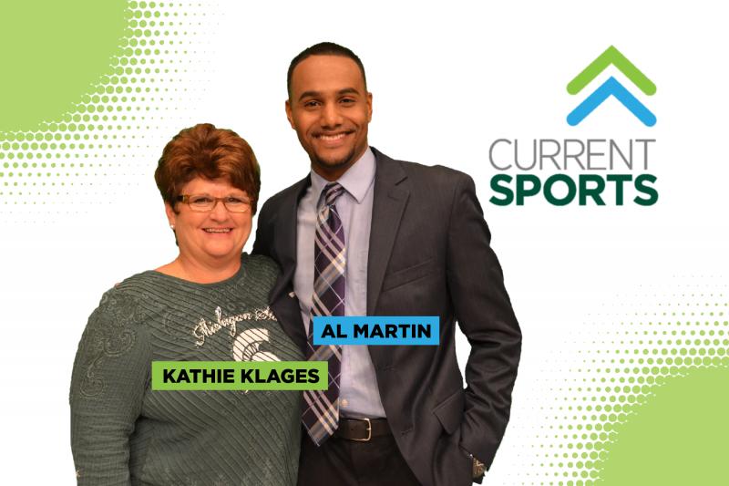 Kathie Klages and Al Martin