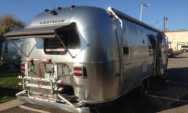 An Airstream Bunkhouse