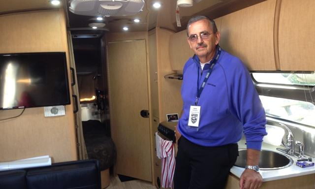 Dave Schuman of Airstream brought this Bunkhouse model to Urban Air in Eaton Rapids.