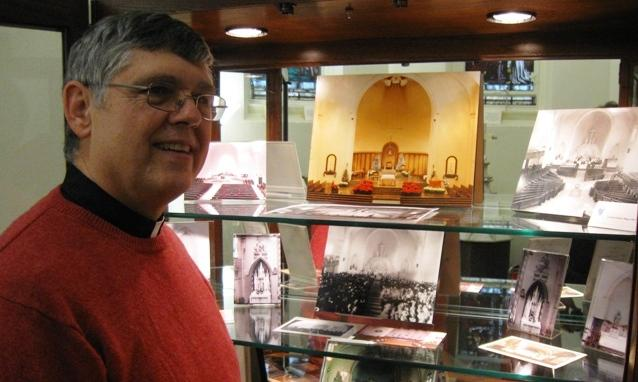 Monsignor George Michalek has served as the diocesan historian for the last 34 years.