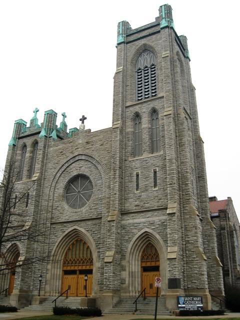 St. Mary's Cathedral in Lansing was consecrated on December 8, 1913.