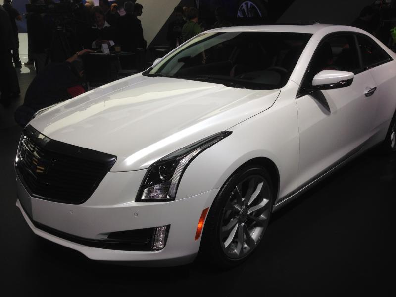The 2015 Cadillac ATS Coupe will be built in Lansing.