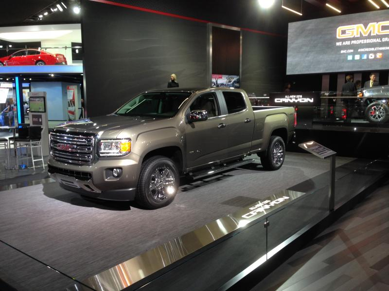 The 2015 GMC Canyon