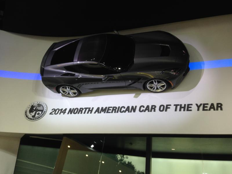 The Chevrolet Corvette Stingray is the 2014 North American Car of the Year.