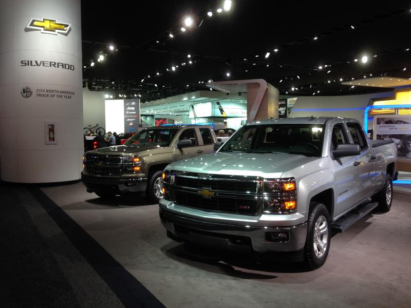 The Chevrolet Silverado is the 2014 North American Truck of the Year.