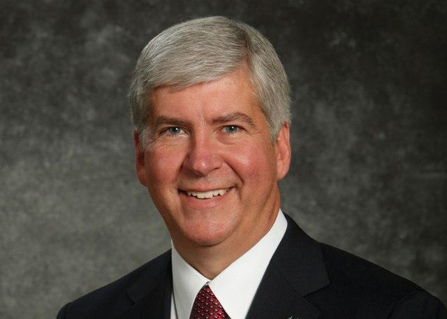 Gov. Rick Snyder photo