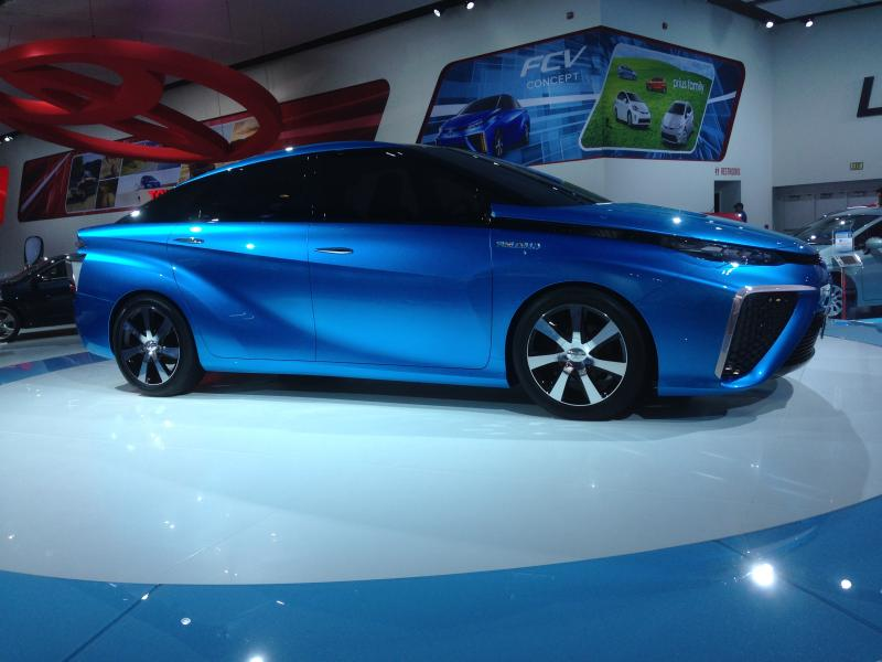 The Toyota FCV concept
