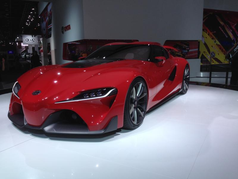 The Toyota FT-1 concept