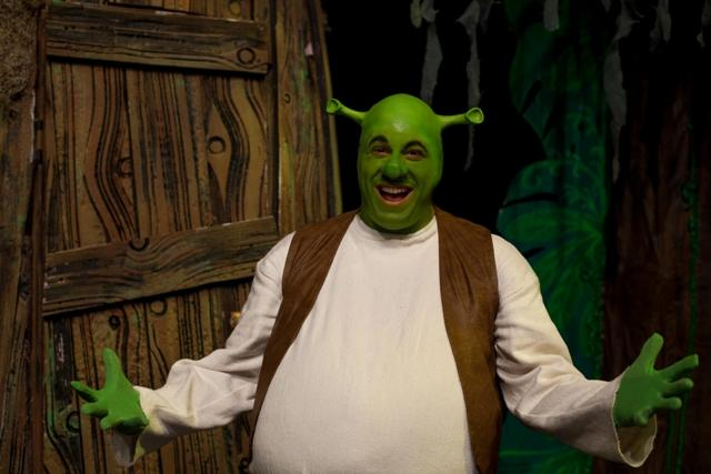"Mike Windnagle stars in ""Shrek: The Musical"". Opening night is Friday."