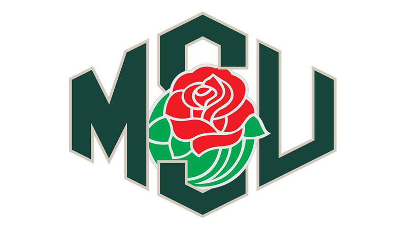 MSU Spartan Marching Band Rose Bowl logo