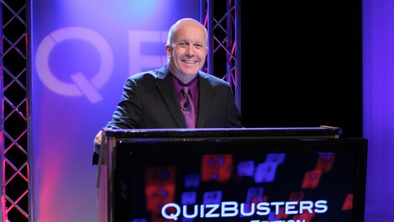 Matt at podium