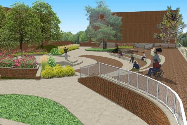 A rendering of what Summer Circle Theatre will look like in 2015.