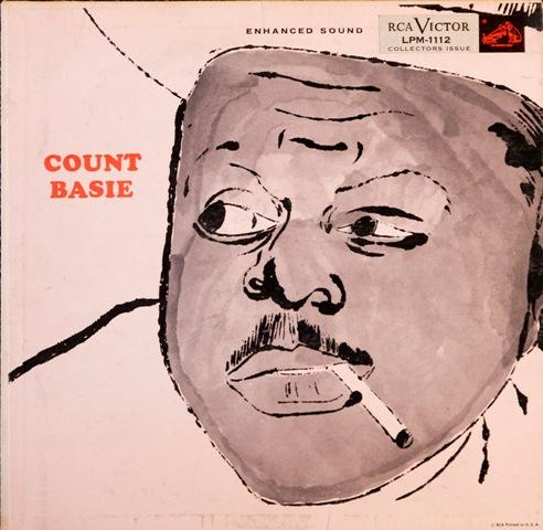 'Count Basie', 1955, was Andy Warhol's first celebrity portrait.