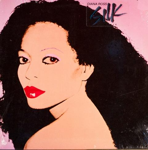 'Silk Electric' by Diana Ross, 1982. From a collage photo featuring Ross
