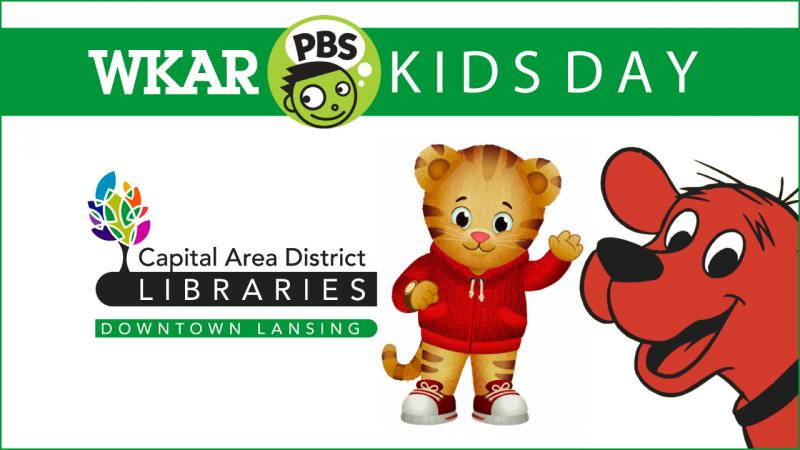 WKAR PBS Kids Day at Capital Area District Library