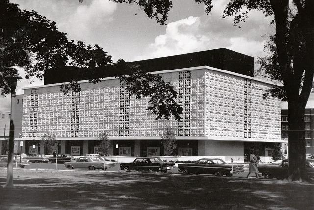 The downtown Lansing library opened 50 years ago.