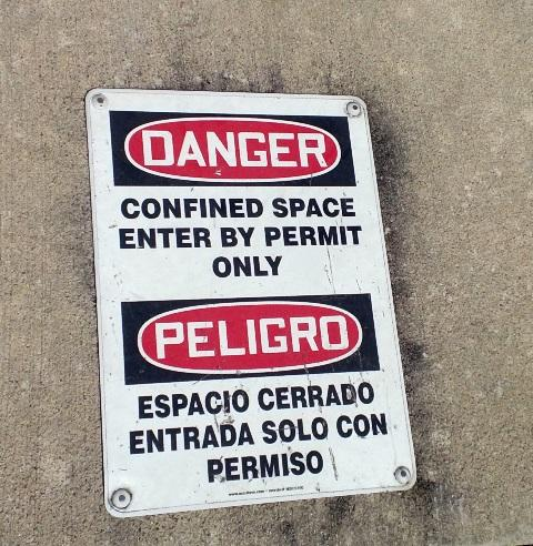Firefighters must sometimes rescue victims trapped in confined spaces, like underground equipment rooms.