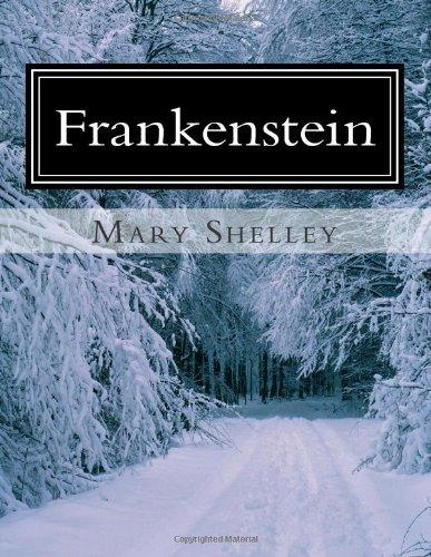What is the main conflict in Frankenstein by Mary Shelley?