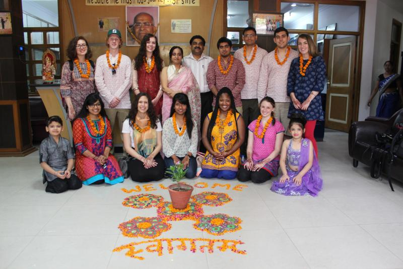 MSU's 'Beyond Bollywood: Taste of Indian Media' study abroad program made a Bollywood film in India this summer.