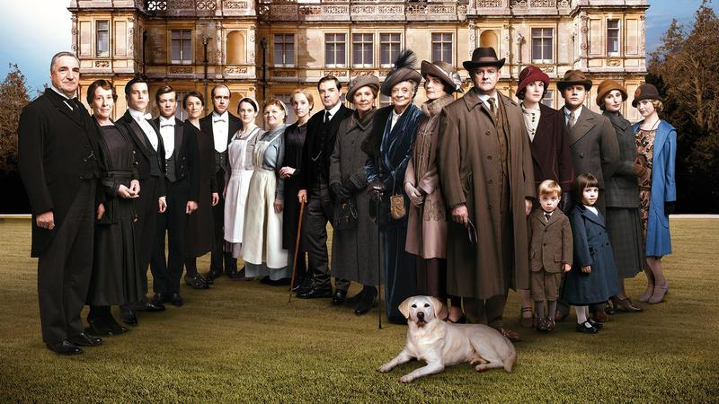 Downton Abbey season five cast members
