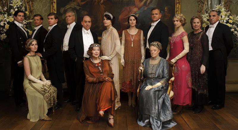 Downton Abbey Cast Season 4
