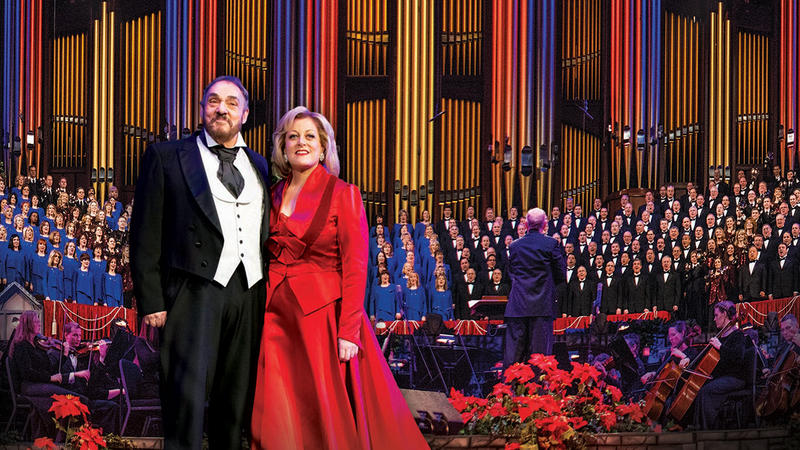 John Rhys-Davies, Soprano Deborah Voigt and Choir