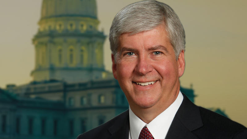 portrait: Governor Rick Snyder