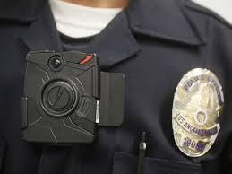 Photo of a police body camera
