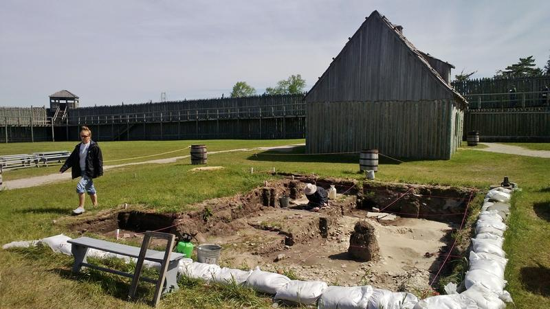 Archeologists have been digging for relics at Colonial Michilimackinac every summer since 1959. This year marks the original French settlement's tricentennial.