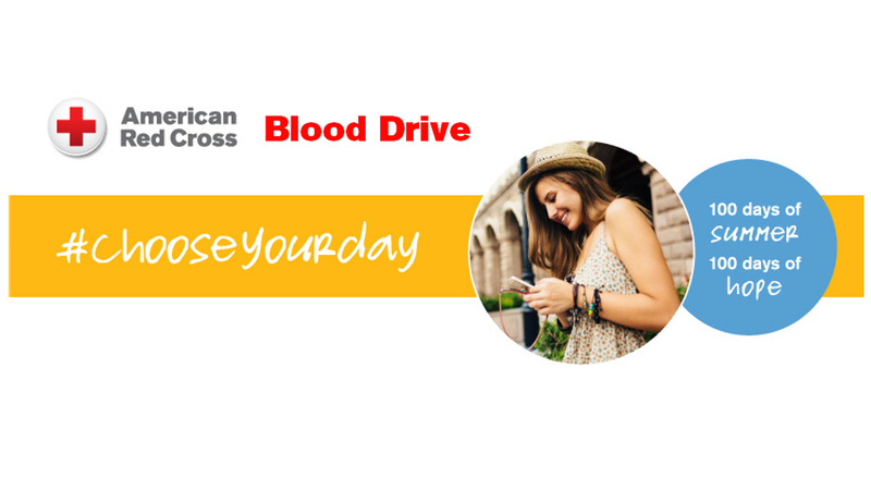 American Red Cross Blood Drive #chooseyourday