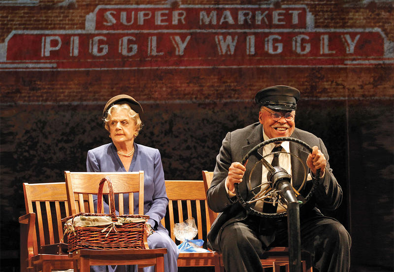 "Angela Lansbury and James Earl Jones in ""Great Performances: Driving Miss Daisy."""