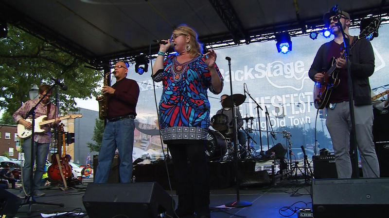 Marci Linn Band on BackStage Pass from WKAR.