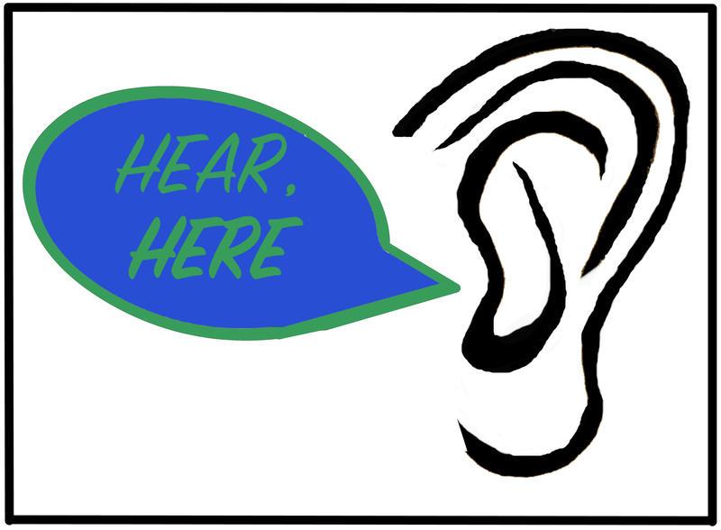 Hear, Here logo