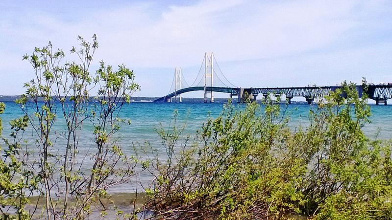Mackinac Bridge photo