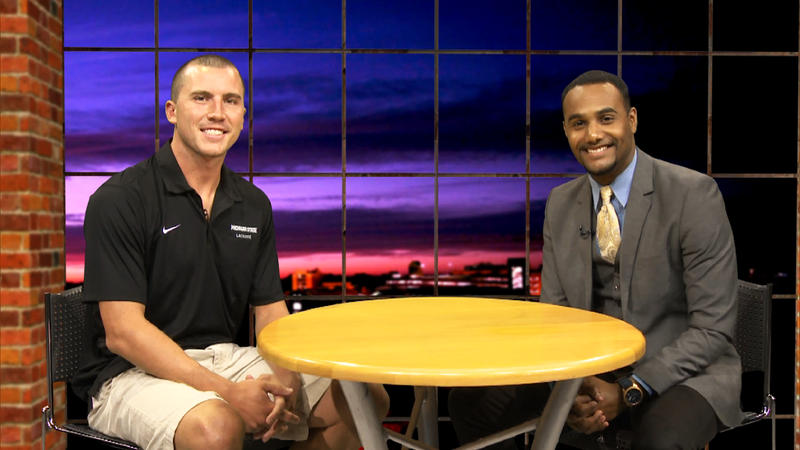 Cam Holding - Head Coach MSU Men's Lacrosse