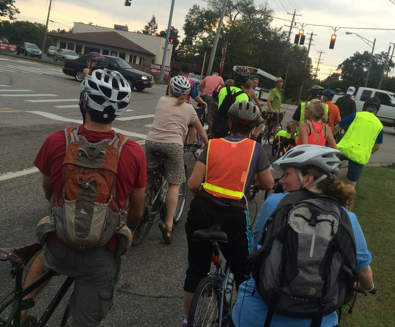 Lansing Bike Party photo