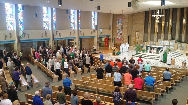 St. Michael's, Flint Mass Mob
