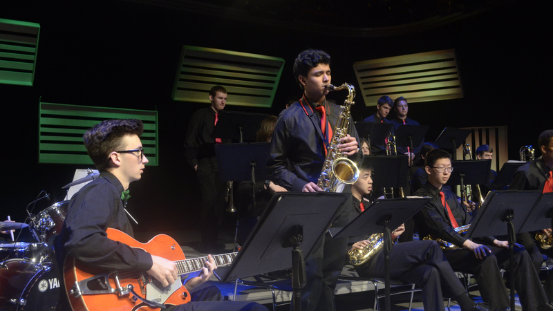 Huron High School Jazz Band