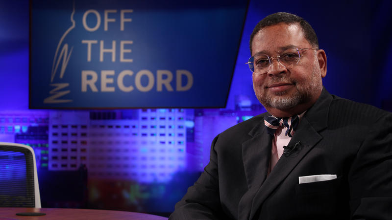 Chief Justice of the Michigan Supreme Court, Robert Young Jr. appearing on Off the Record with Tim Skubick.